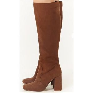 Brand New Brown Suede Boots. NWT!